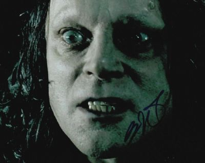 Brad Dourif Autograph Signed Photo - Grima Wormtongue